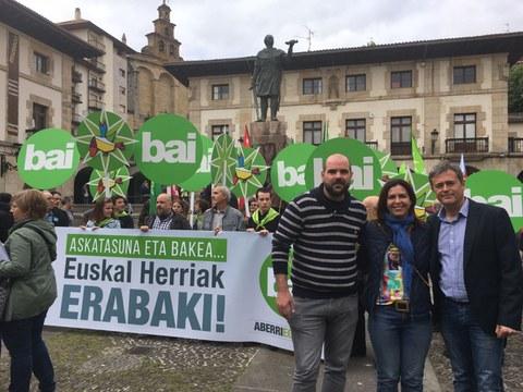 Udalbiltza participará en los Aberri Eguna de Iruñea y Donibane Garazi