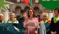 """Annabel Moreno (AMI): """"Udaletatik herri berri, baketsu eta aske baten alde borroka egin behar dugu"""""""