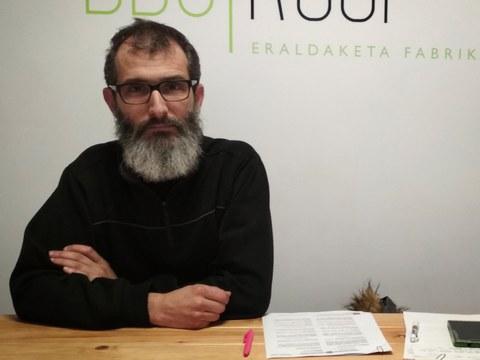 Asier Garaialde (Izarkom): «Sare telematikoak herritarren eskuetara igarotzeko, herritar eta erakunde publikoen elkarlana beharrezkoa da»
